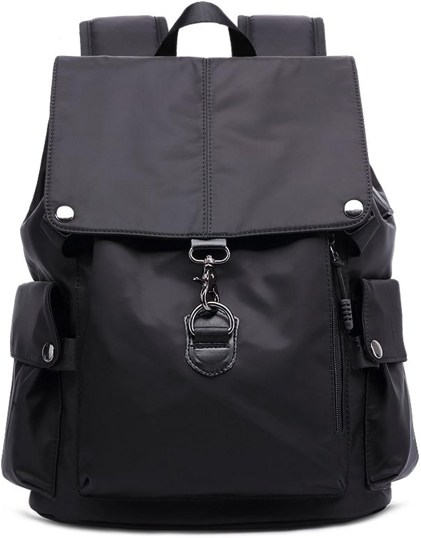 Backpack, Oxford Textile Waterproof Multifunctional Laptop Backpack with USB Charging Interface Hiking Climbing Bag Unisex School Bag Handbag