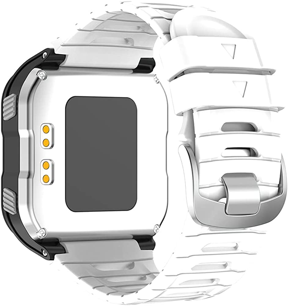 KINOEHOO Correas para relojes Compatible con Garmin Forerunner 920XT Pulseras de repuesto.Correas para relojesde silicona.