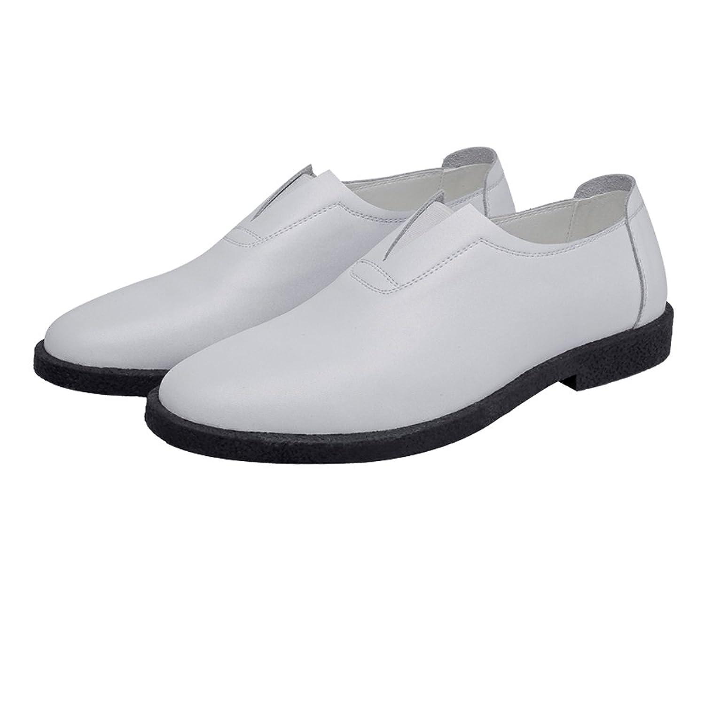 [Yingkou] ビジネスシューズ 本革 メンズ 紳士靴 脚長 美脚 紐靴 防滑 革靴 防水 シューズ