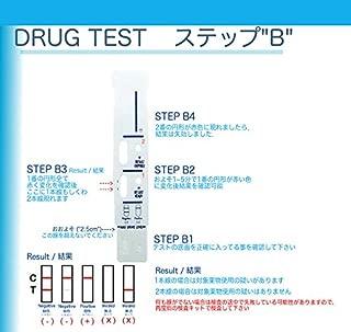 覚せい剤尿検査キットQS5分で検査結果