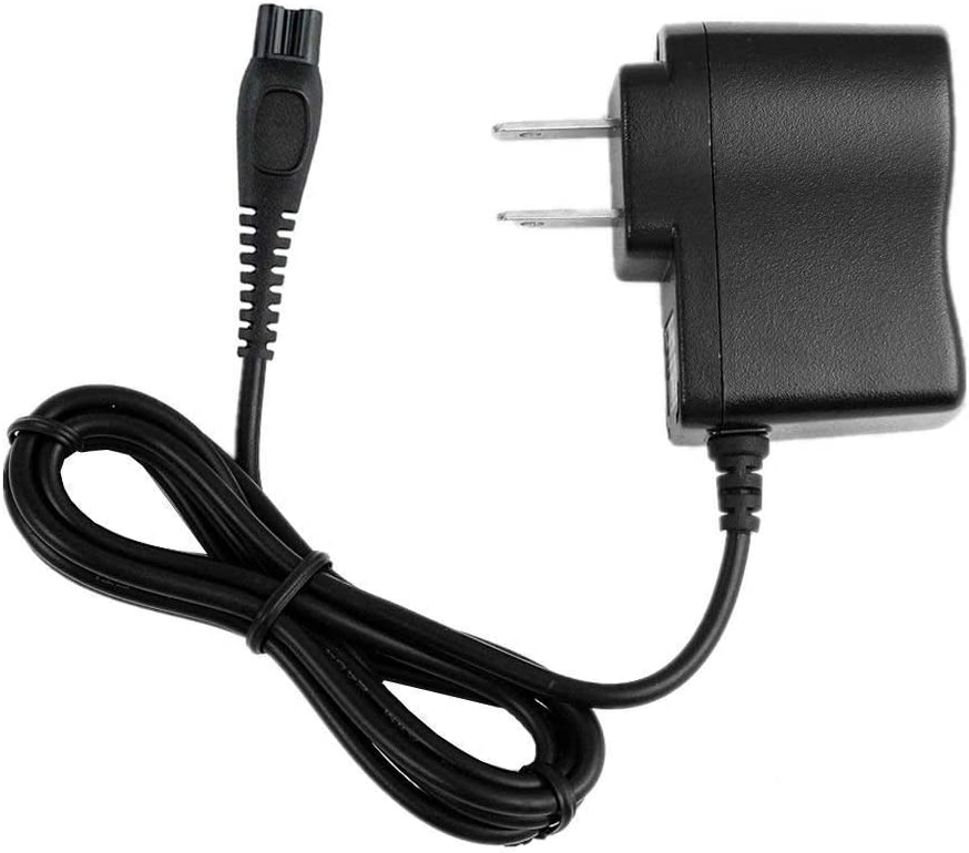 AC Adapter for Philips Norelco S738/82 Click & Style Shaver Trimmer Wall DC Power Supply Charger Cord Cable Mains Plug Wire, 4 Feet