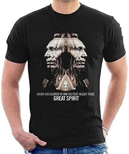 Armin Van Buuren Vs Vini Vici T-Shirt Graphic Top Printed tee Shirt for MensBlack3XL