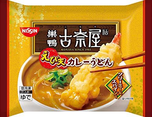 【冷凍】日清食品 古奈屋 えび天カレーうどん X6袋