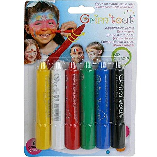 OZ international - GT41881 - Set 6 crayons de Maquillage Sport GRIMSTICK