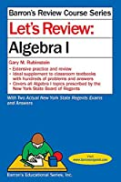 Let's Review Algebra I (Barron's Regents NY)