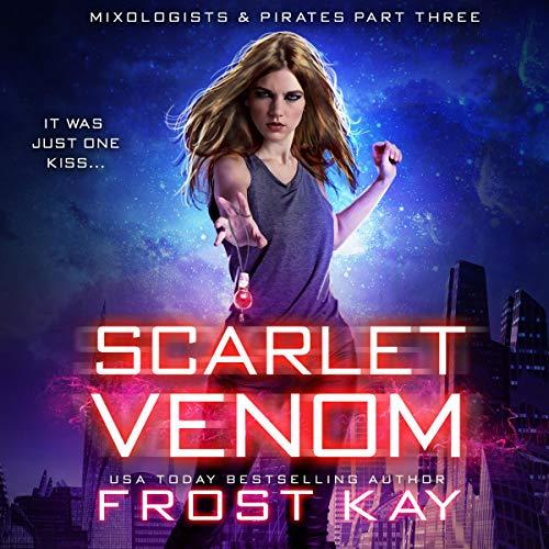 Scarlet Venom audiobook cover art