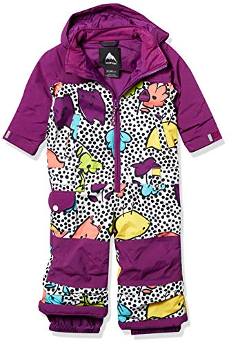 Burton Baby Toddler Girls Illusion One Piece, Hoos There, 3T
