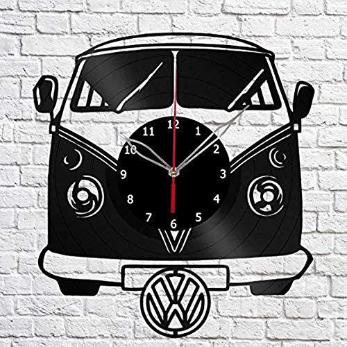 VW Camper Vinyl Schallplatte Wanduhr Geburtstag Neujahr Weihnachten Geburtstag Geschenk Persönlichkeit kreative Home Design Wanddekoration