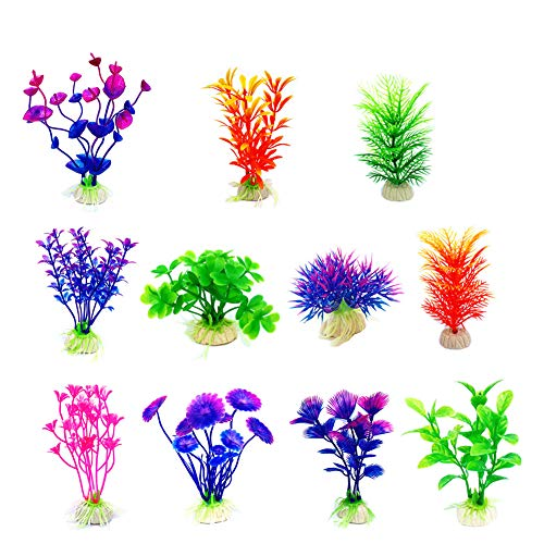 CousDUoBe Artificial Aquatic Plants