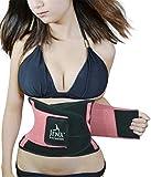 Jenx Fitness Unisex Waist Trimmer, Pink, X-Large