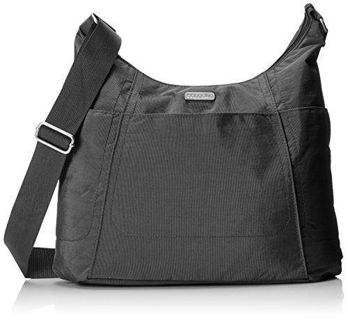 THE PERFECT TOTE: With a lightweight, roomy design, Baggallini's hobo tote is the perfect bag for traveling or as a catch-all everyday purse. ZIPPERED POCKETS: Zippered pockets and a zippered top secure your must-have essentials while you're on the g...