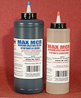 MAX MCR A/B Electronic Grade Epoxy Potting Compound, 48 Fluid Ounce Kit, Electronic Grade, Sealing, Waterproofing, Insulating, Circuit Masking
