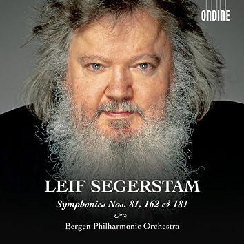 Segerstam: Symphonies Nos. 81, 162 & 181