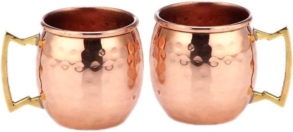Buddha4all 2 supreme Oz. Solid Genuine Free Shipping Copper Mini Mule Mug Moscow Set Copp Shot