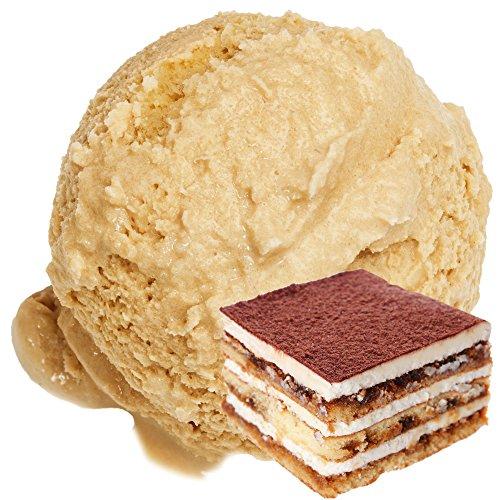 Saveur Tiramisu 1 Kg Gino Gelati Ice Powder Poudre de glace molle pour votre sorbetière