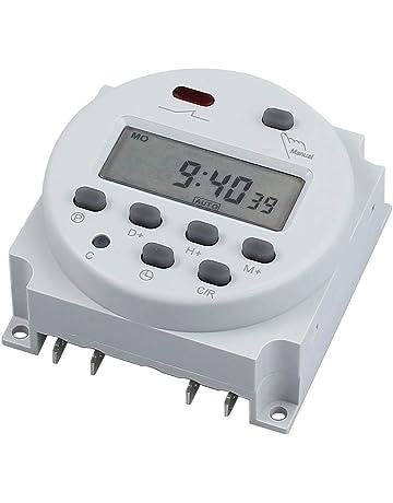 Tiamu AC 220V 10A 30 Min Timer per il Conto Alla Rovescia Interruttore Elettrico Digitale Interruttore di Controllo Della Spina Timer Presa un Manopola Stile Meccanico