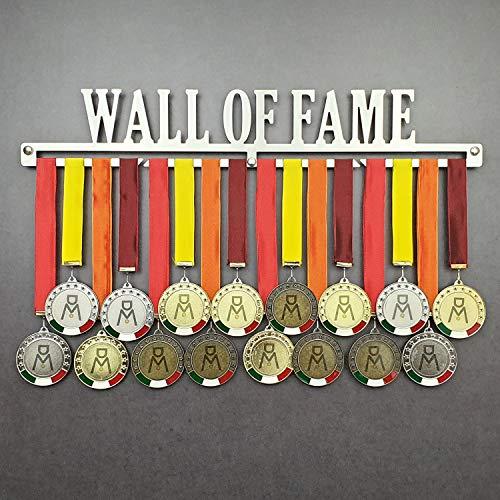 Wall of Fame - Colgador de medallas Deportivas - Medallero de Pared - Sport Medal Hanger - Display Rack (450 mm x 80 mm x 3 mm)