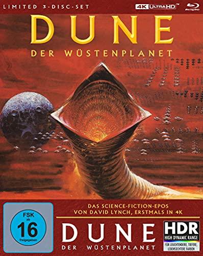 Produktbild von Dune - Der Wüstenplanet (Mediabook A, 4K-UHD + 2 Blu-rays) (exklusiv bei Amazon.de)