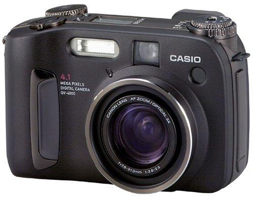 Casio QV-4000 Digitalkamera (4,1 Megapixel) inkl. 1GB IBM Microdrive