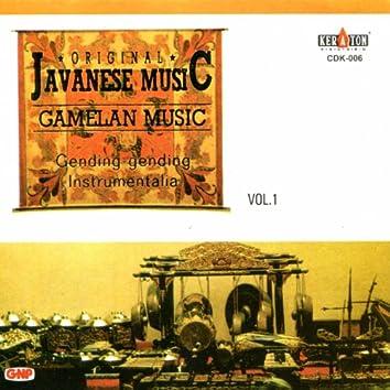 Original Javanese Music: Gamelan Music, Vol. 1 (Gending-Gending Instrumental)
