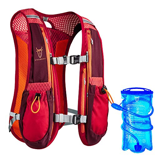 UTOBEST Mochila Running Hidratacion Ligero 5L...