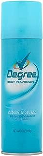 Degree Women Anti-Perspirant Deodorant Spray Shower Clean 6 oz (Pack of 5)