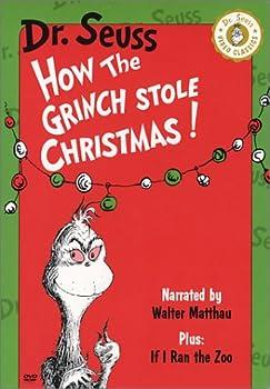 DVD How the Grinch Stole Christmas (Walter Matthau Version) / If I Ran the Zoo Book