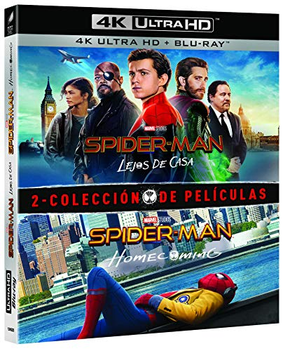 Pack Spider-Man: Homecoming + Lejos de casa (4K UHD + BD) [Blu-ray]