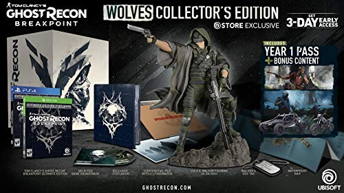 Tom Clancy's Ghost Recon Breakpoint - Wolves Collector's Edition