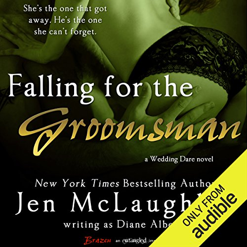 Falling for the Groomsman audiobook cover art