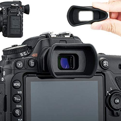 Soft Silicon Camera Viewfinder Eyecup Eyepiece Eyeshade for Nikon D780 D750 D610 D600 D7500 product image