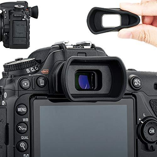 Eyecup Eye Cup Eyepiece Viewfinder For Nikon D3400 D5500 D3300 D5100 D3200 D3100 D3000 D5200 D5300 D5000 SLR Camera Replaces Nikon DK-24 Black 2 Pack Bestshoot