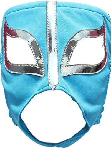 Deportes Martinez La Reata Damen Lycra Lucha Libre Luchador Wrestling Masken Erwachsenengröße - Blau - Einheitsgröße