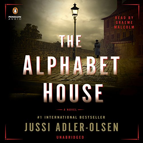 The Alphabet House audiobook cover art