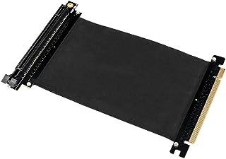 Everpert PCI-Express PCI-E3.0 16X - Cable adaptador de extensión flexible para tarjeta gráfica de PC
