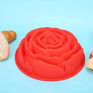 قالب سيليكون ، مبتكر جميل واحد روز شكل سيليكون خبز كيك قالب المنزل المطبخ DIY أدوات الخبز الملحقات