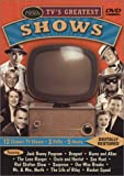 1950s TV's Greatest Shows Featuring: The Jack Benny Program / Dragnet / The Burns and Allen Show / The Lone Ranger / The
