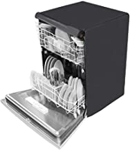 Kingmatters Dishwasher Cover for IFB Neptune SX1 Fully-Automatic Front-Loading (12 Place Settings, Stainless Steel) Grey Colour