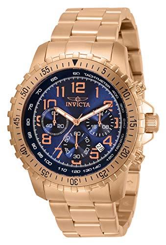 Invicta 32315 Men's Specialty Blue Dial Rose Gold Bracelet Watch