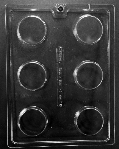 Preegle AO138-3PK Plain Cookie Chocolate Mold