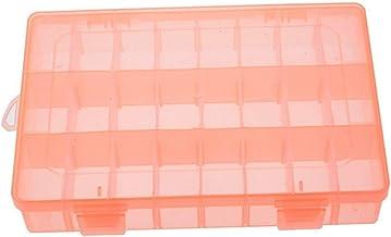 Kleurrijke PP 24 Grids DIY Gereedschap Verpakking Doos Draagbare Elektronische Componenten Schroef Verwijderbare Opslag Sc...