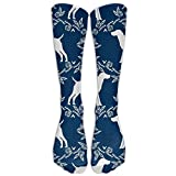 Chaussettes longues allemandes à poinçon court pour chiens, chaussettes de compression graduées pour femmes et hommes - Meilleures chaussettes médicales, de soins infirmiers, de voyage et de vol