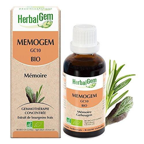 HerbalGem - COMPLEXES DE GEMMOTHÉRAPIE - MEMOGEM GC10 BIO - 30 ml
