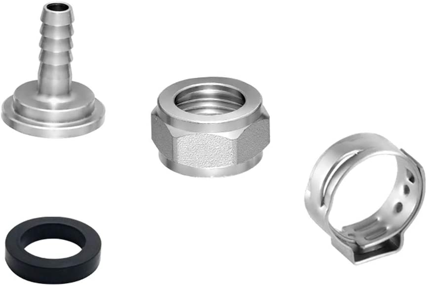 Talos Connector Kit For Beer Line 35% OFF Chrome Tail P Steel Stainless Columbus Mall