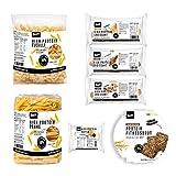 Paquete de muestras BenFit High Protein Low Carb de 7 tipos de productos Low Carb, ideal para una dieta baja en calorías y baja en grasas.