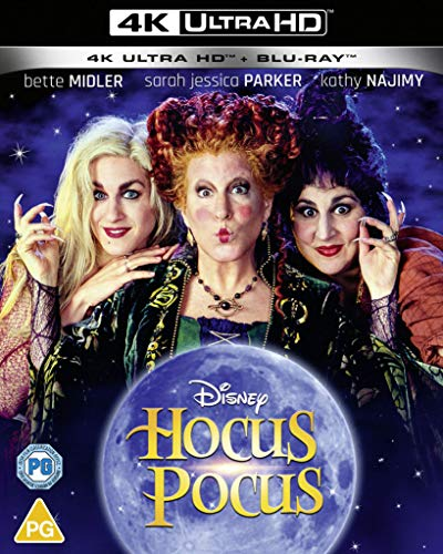Disney's Hocus Pocus UHD [Blu-ray] [2020] [Region Free]