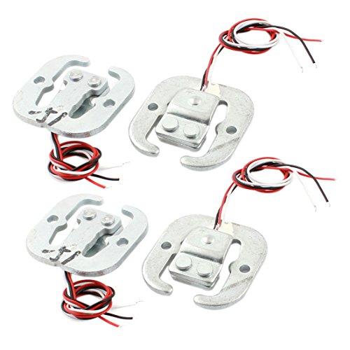 Sourcingmap 4pcs Half Bridge Körper Wägezelle Elektronische Waage Wiegen Sensor 50Kg de