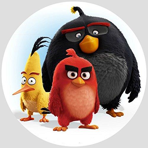 Tortenaufleger Tortenfoto Aufleger Foto Bild Angry Birds (28) rund ca. 20 cm *NEU*OVP*
