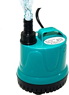 Upettools Submersible Water Pump, Ultra Quiet Fountain Circulation Water Pump with Handle for Pond, Aquarium, Fish Tank Fountain, Powerful Water Pump with 4.6ft (1.4M/1.9M) Power Cord.