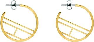TOMMY HILFIGER WOMEN'S IONIC GOLD PLATED STEEL EARRINGS -2780329